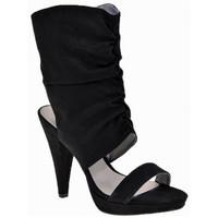 Chaussures Femme Sandales et Nu-pieds Chedivé Talon Veau 110 Dive & Co. Sandales Noir
