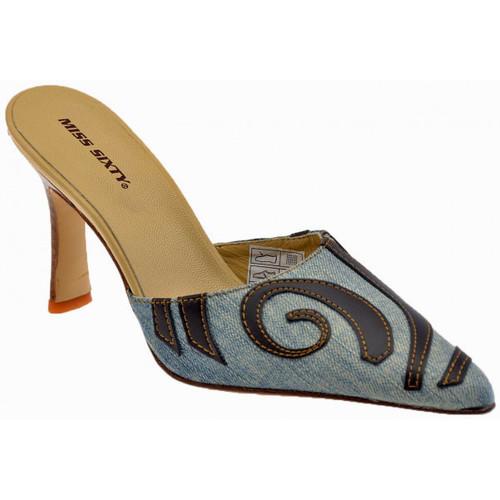 Chaussures Femme Sabots Miss Sixty Talon80EtnicalSabot bleu