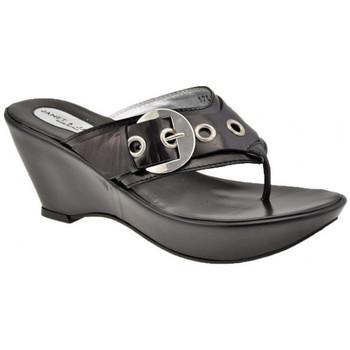 Chaussures Femme Sandales et Nu-pieds Janet&Janet Simba Tongs Noir