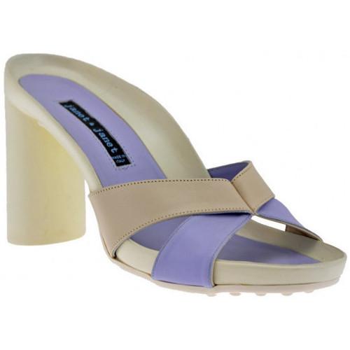 Chaussures Femme Sandales et Nu-pieds Janet&Janet Talon80Sandales violet