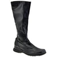 Chaussures Femme Bottes ville Janet&Janet 6351 Pank Bottes Noir