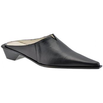 Chaussures Femme Sabots Janet&Janet Sabo Texan talon 30 Sabot Noir