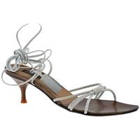 Chaussures Femme Sandales et Nu-pieds Janet&Janet Talon aiguille Sandales blanc