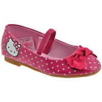 Chaussures Enfant Ballerines / babies Hello Kitty Raffin Ballerines rose