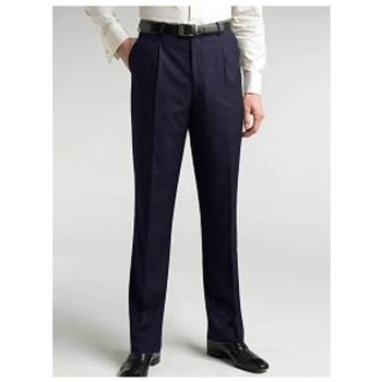 Vêtements Homme Chinos / Carrots Kebello Pantalon bleu