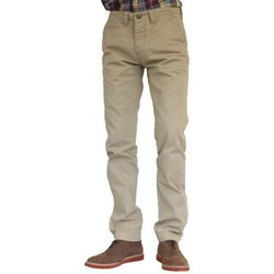 Vêtements Homme Pantalons 5 poches Wrangler Chino beige