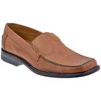 Chaussures Homme Mocassins Lancio Punta Quadra Mocassins Marron