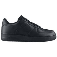 Chaussures Enfant Baskets basses Nike AIR FORCE LOW GS NOIR