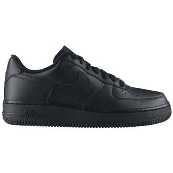 Chaussures Enfant Baskets basses Nike AIR FORCE LOW GS NOIR