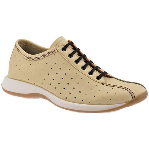Chaussures Homme Baskets montantes Lumberjack PerforésSportCasualSneakers Beige
