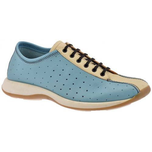 Chaussures Homme Baskets montantes Lumberjack PerforésSportCasualSneakers Bleu