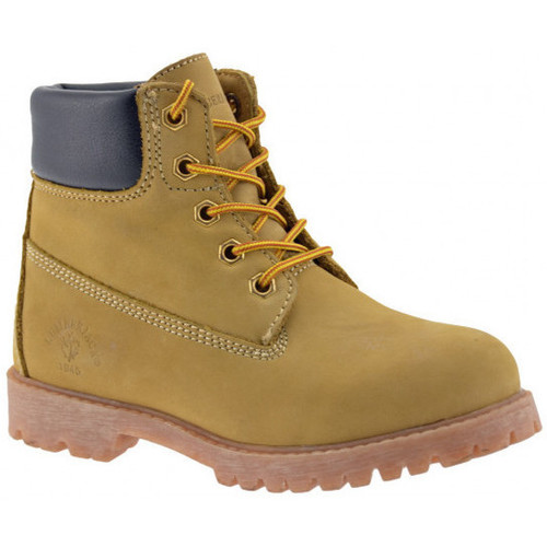 Chaussures Fille Boots Lumberjack RivièreBootCasualmontantesCasualmontantes Casual montantes jaune