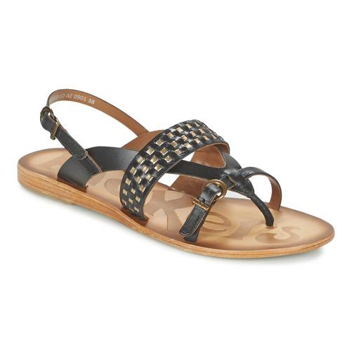 Sandale Kickers NEWTONG Noir 350x350