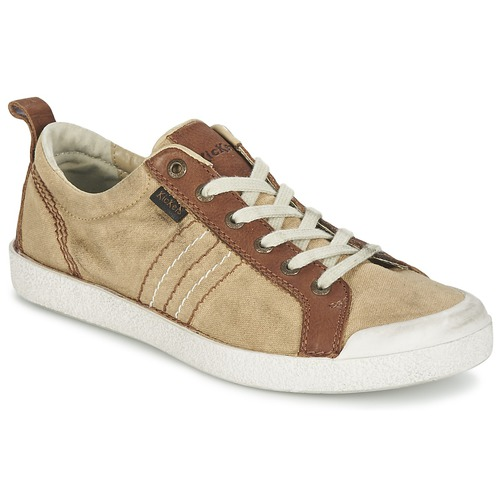 Chaussures Homme Baskets basses Kickers TRIDENT Camel