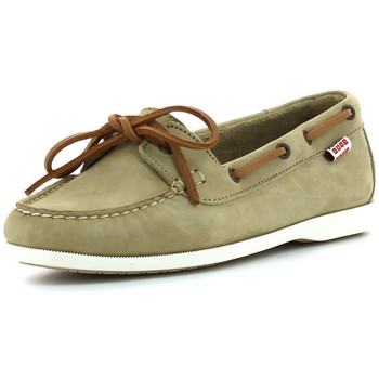 Chaussures Femme Mocassins Aigle Americasual beige