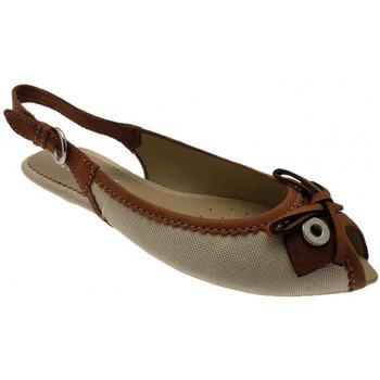 Chaussures Femme Sandales et Nu-pieds Geox Pompesàtalon20Sandales Beige