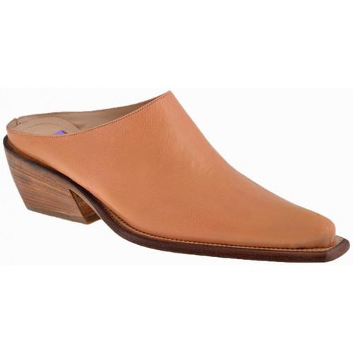 Chaussures Femme Sabots Pepol TalonTexan30Sabot Beige