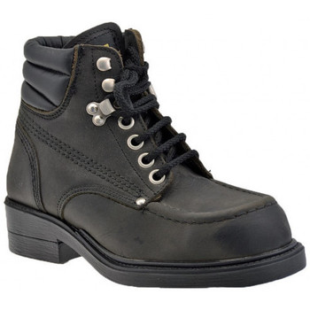 Chaussures Homme Boots Stone Haven Police Low Point of Steel Casual montantes