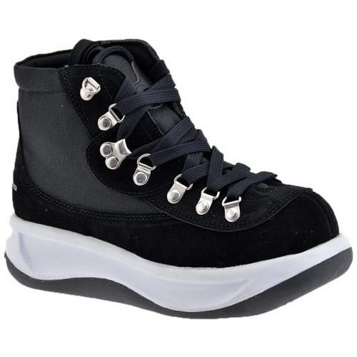 Chaussures Enfant Baskets montantes Fornarina Trek vague modèle Talon compensé