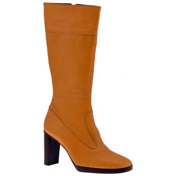 Chaussures Femme Bottes ville Fornarina 100PlateautalonpostalBottes Beige