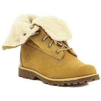 Chaussures Fille Boots Timberland C 2236B,A156N Jaune