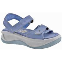 Chaussures Enfant Sandales et Nu-pieds Fornarina Wave Velcro Girl Sandales bleu