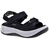 Chaussures Enfant Sandales et Nu-pieds Fornarina Vague Velcro Fille Sandales Noir