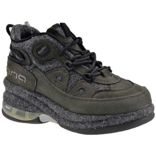 Chaussures Enfant Baskets montantes Fornarina Trek up Talon compensé