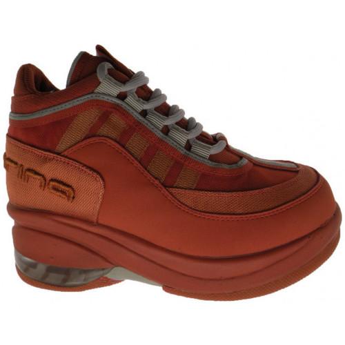 Chaussures Enfant Baskets montantes Fornarina Jusqu&39;à Jr Talon compensé