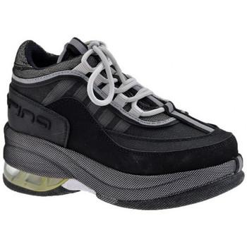 Chaussures Enfant Baskets montantes Fornarina Jusqu&39;à 1684 Jr Talon compensé Noir