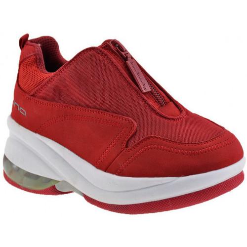 Chaussures Enfant Baskets montantes Fornarina Zip Up Jr Talon compensé