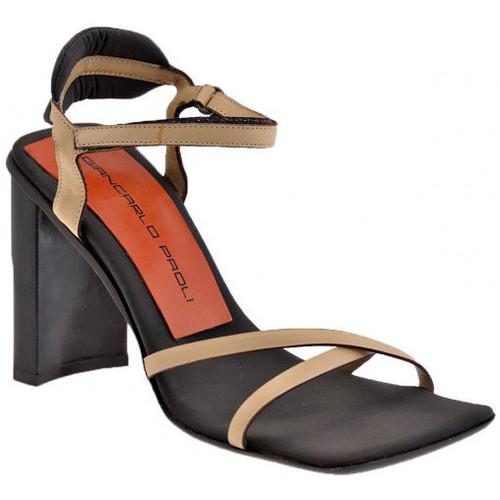 Chaussures Femme Sandales et Nu-pieds Giancarlo Paoli 0084Talon100Sandales Beige