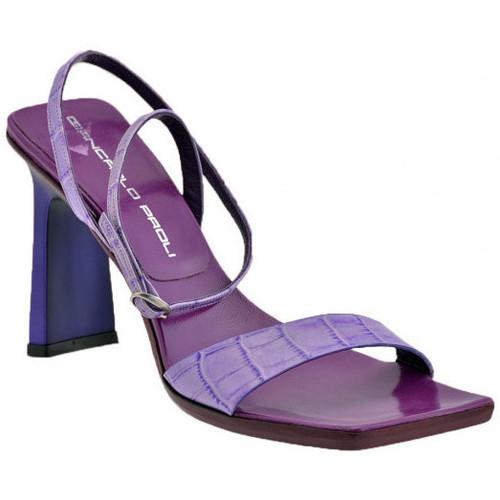 Chaussures Femme Sandales et Nu-pieds Giancarlo Paoli 3302Talon90Sandales violet