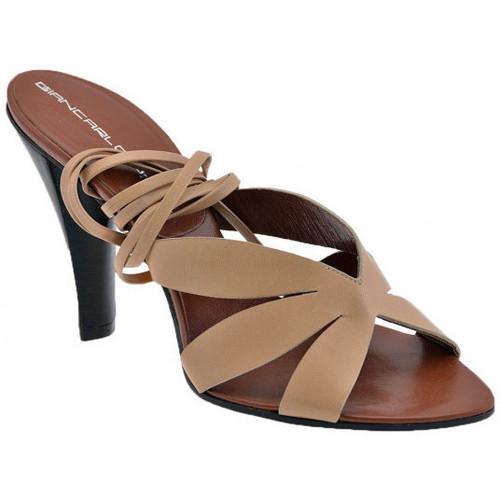 Chaussures Femme Sandales et Nu-pieds Giancarlo Paoli Kaditalon110Sandales Beige