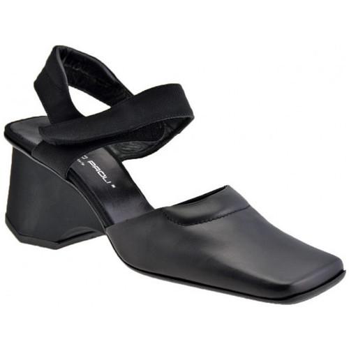 Chaussures Femme Sandales et Nu-pieds Giancarlo Paoli RoyaleWedge70Sandales Noir