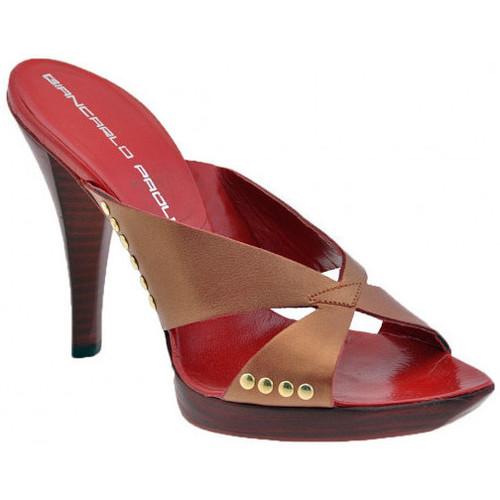 Chaussures Femme Escarpins Giancarlo Paoli Talon d&39;Orange 120 Talons-Hauts rouge