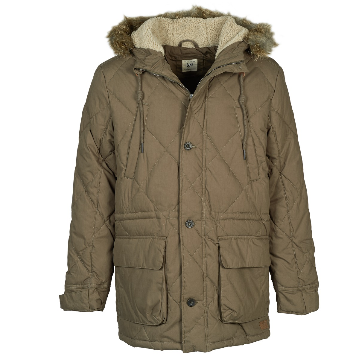 Lee DOWN PARKA Kaki
