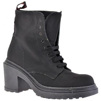 Chaussures Femme Bottines Xenos Talon 50 Casual montantes Noir