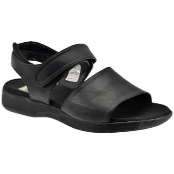 Chaussures Femme Sandales et Nu-pieds Now VelcroWedge20Sandales Noir