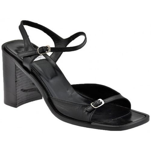 Chaussures Femme Sandales et Nu-pieds Fru.it Bracelet Boucle Talon 2 80 Sandales Noir