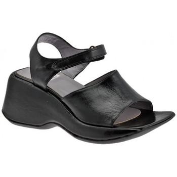 Chaussures Femme Sandales et Nu-pieds Now VelcroWedgebande60Sandales Noir