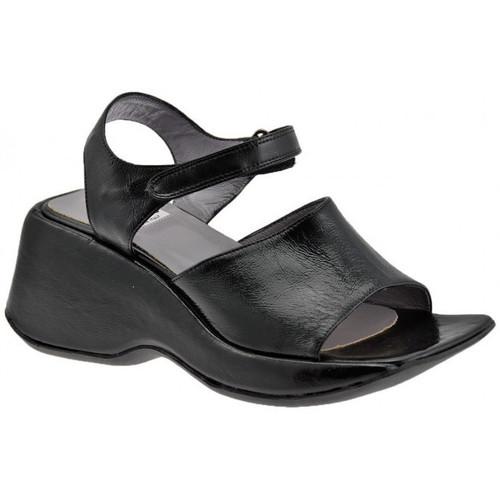 Chaussures Femme Sandales et Nu-pieds Now Fascia Zeppa 60 Sandales Noir