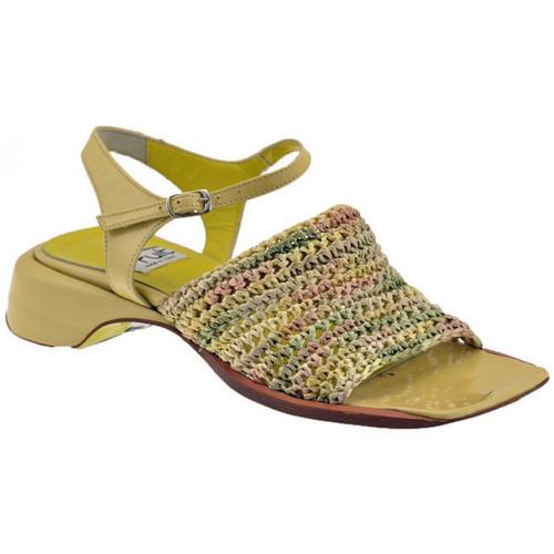 Chaussures Femme Sandales et Nu-pieds Fru.it Chemise de bande Sandales Beige