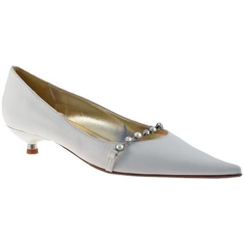 Chaussures Femme Ballerines / babies Fascino Parade strass T.25 Deja Ballerines blanc