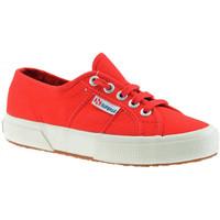 Chaussures Enfant Baskets basses Superga 2750 classique Jr Baskets basses rouge
