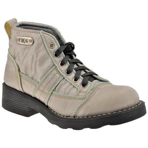 Chaussures Femme Boots Tks Satin 6 Trous Casual montantes