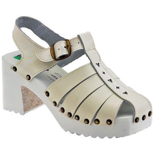 Chaussures Femme Sandales et Nu-pieds Magica Estate Araignéetalon60Sandales blanc