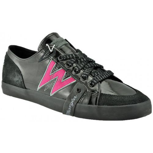 Chaussures Femme Baskets basses Wrangler Sneakers occasionnels Baskets basses Noir