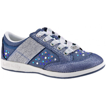 Chaussures Enfant Baskets basses Lelli Kelly California Strass Baskets basses Multicolore