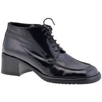 Chaussures Femme Richelieu Dockmasters 40 talon Casual Richelieu Noir